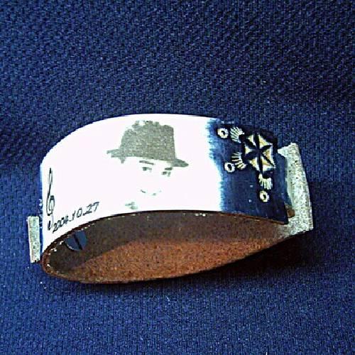 皮革雷射雕刻-手環
